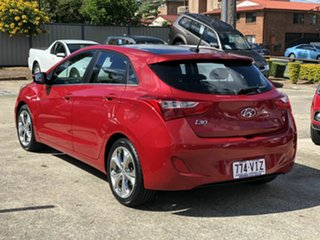 2014 Hyundai i30 GD MY14 Premium Red 6 Speed Sports Automatic Hatchback.