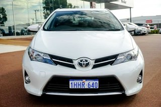 2013 Toyota Corolla ZRE182R Ascent Sport S-CVT White 7 Speed Constant Variable Hatchback