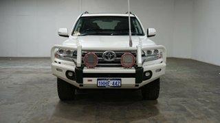 2018 Toyota Landcruiser URJ202R VX White 6 Speed Sports Automatic Wagon