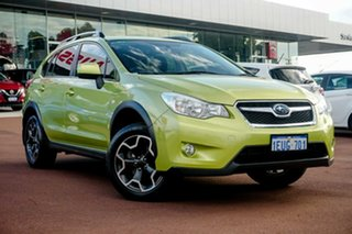 2015 Subaru XV G4X MY15 2.0i Lineartronic AWD Green 6 Speed Constant Variable Wagon.