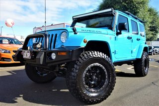 2018 Jeep Wrangler JL MY18 Unlimited Rubicon Blue 8 Speed Automatic Softtop.