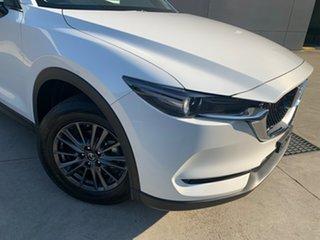 2021 Mazda CX-5 KF2W7A Maxx SKYACTIV-Drive FWD Sport Snowflake White 6 Speed Sports Automatic Wagon.