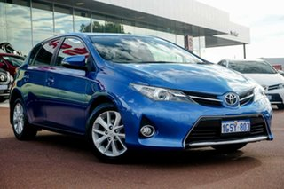 2014 Toyota Corolla ZRE182R Ascent Sport S-CVT Blue 7 Speed Constant Variable Hatchback.