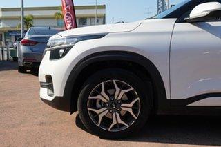 2020 Kia Seltos MY20 Sport+ (FWD) White Continuous Variable Wagon.