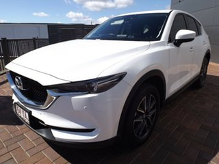 2018 Mazda CX-5 KF4WLA GT SKYACTIV-Drive i-ACTIV AWD Snowflake White 6 Speed Sports Automatic Wagon