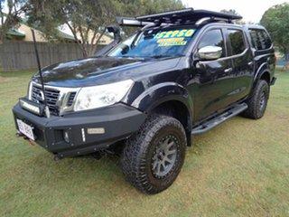 2016 Nissan Navara D23 S2 ST-X Black 7 Speed Sports Automatic Utility.
