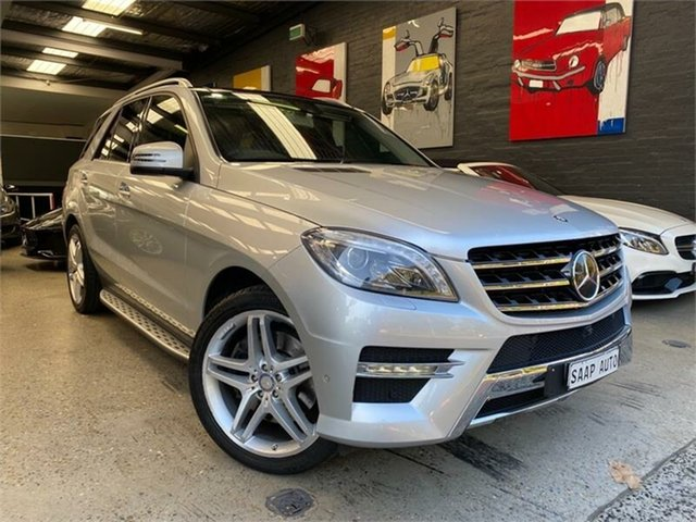 Used Mercedes-Benz M-Class W166 Glebe, 2013 Mercedes-Benz M-Class W166 ML500 Silver Sports Automatic Wagon
