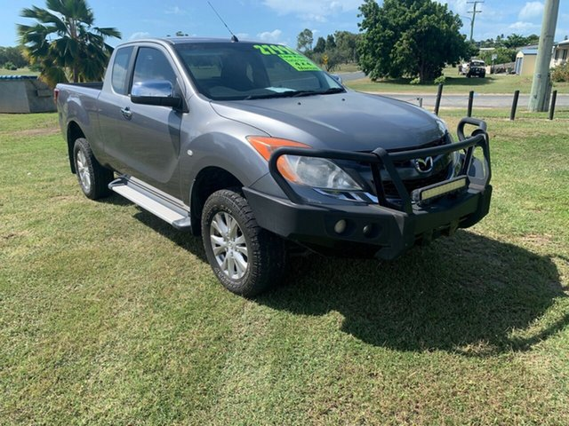 Used Mazda BT-50 Bowen, 2012 Mazda BT-50 XTR Grey 6 Speed Manual Crewcab