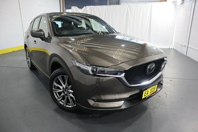 Used Mazda CX-5 KF4WLA Akera SKYACTIV-Drive i-ACTIV AWD Castle Hill, 2018 Mazda CX-5 KF4WLA Akera SKYACTIV-Drive i-ACTIV AWD Brown 6 Speed Sports Automatic Wagon