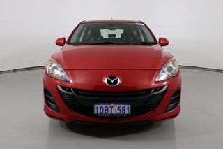 2009 Mazda 3 BL Maxx Sport Red 5 Speed Automatic Hatchback.