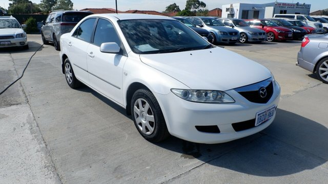 Used Mazda 6 GG1032 Classic St James, 2005 Mazda 6 GG1032 Classic White 5 Speed Sports Automatic Sedan