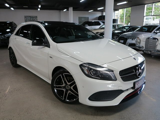 Used Mercedes-Benz A-Class W176 808MY A250 D-CT 4MATIC Sport Albion, 2017 Mercedes-Benz A-Class W176 808MY A250 D-CT 4MATIC Sport White 7 Speed