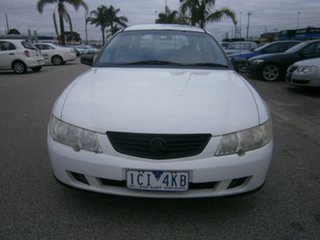 2003 Holden Commodore VY Executive White 4 Speed Automatic Wagon.