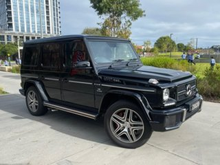2018 Mercedes-Benz G-Class W463 MY808 G63 AMG SPEEDSHIFT PLUS 4MATIC Black 7 Speed Sports Automatic.