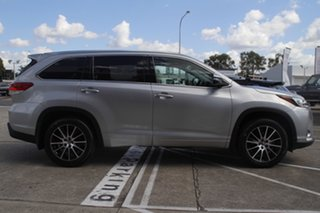 2018 Toyota Kluger GSU55R Grande AWD Silver 8 Speed Sports Automatic Wagon