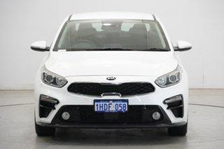 2020 Kia Cerato BD MY20 S Snow White Pearl 6 Speed Sports Automatic Sedan.