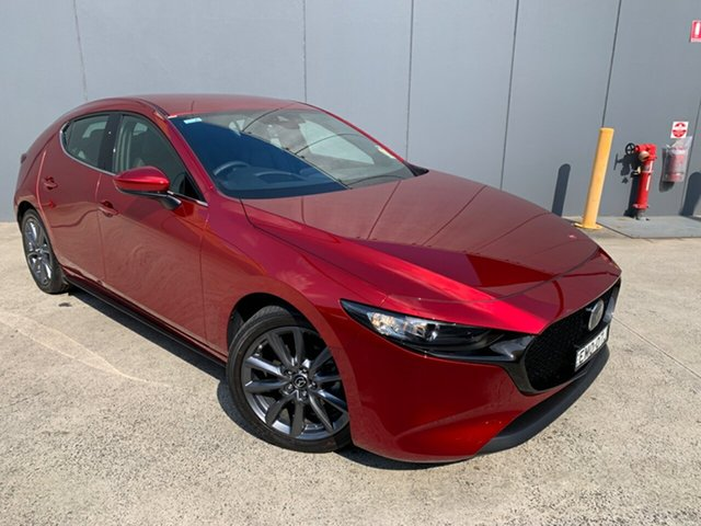 Demo Mazda 3 BP2HLA G25 SKYACTIV-Drive GT Alexandria, 2021 Mazda 3 BP2HLA G25 SKYACTIV-Drive GT Soul Red Crystal 6 Speed Sports Automatic Hatchback