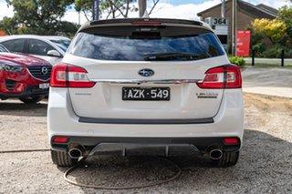 2017 Subaru Levorg V1 MY18 1.6 GT CVT AWD Premium White 6 Speed Constant Variable Wagon