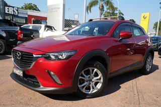 2015 Mazda CX-3 DK Maxx (FWD) Red 6 Speed Automatic Wagon.