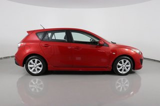 2009 Mazda 3 BL Maxx Sport Red 5 Speed Automatic Hatchback