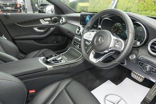 2018 Mercedes-Benz C-Class W205 809MY C200 9G-Tronic Selenite Grey 9 Speed Sports Automatic Sedan.