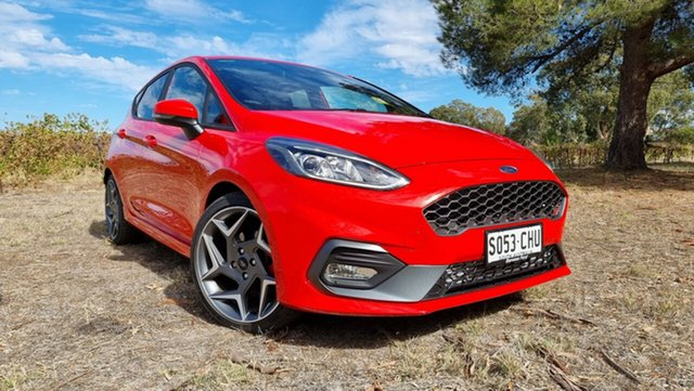 Demo Ford Fiesta ST Tanunda, 2020 Ford Fiesta ST Race Red 6 Speed Manual Hatchback