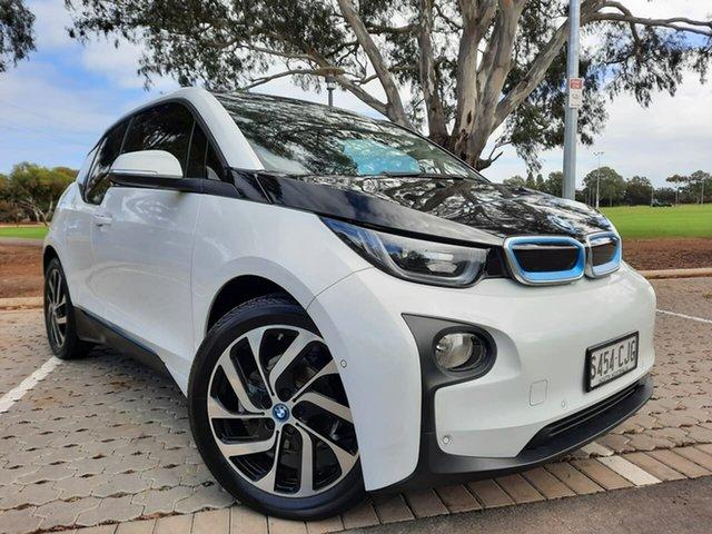 Used BMW i3 I01 60Ah Adelaide, 2014 BMW i3 I01 60Ah White 1 Speed Automatic Hatchback