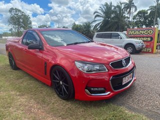 2014 Holden Ute VF MY14 SV6 Ute Storm Red 6 Speed Manual Utility.