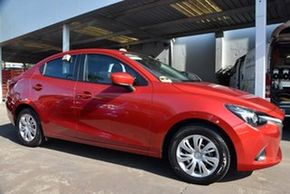 2016 Mazda 2 DL2SA6 Neo SKYACTIV-MT Red 6 Speed Manual Sedan.