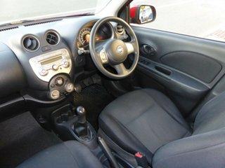 2012 Nissan Micra K13 ST-L Red 5 Speed Manual Hatchback.