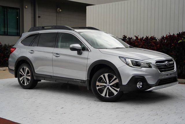 Used Subaru Outback B6A MY18 2.5i CVT AWD Premium Cairns, 2018 Subaru Outback B6A MY18 2.5i CVT AWD Premium Silver 7 Speed Constant Variable Wagon