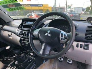 2012 Mitsubishi Triton MN GL-R White 5 Speed Manual Utility
