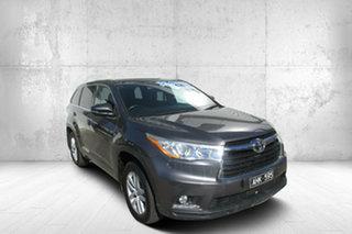 2016 Toyota Kluger GSU50R GX 2WD Grey 8 Speed Sports Automatic Wagon.
