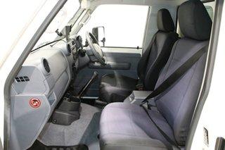 2018 Toyota Landcruiser VDJ79R GXL (4x4) White 5 Speed Manual Cab Chassis