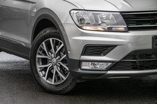 2016 Volkswagen Tiguan 5N MY17 110TDI DSG 4MOTION Comfortline Tungsten Silver 7 Speed.