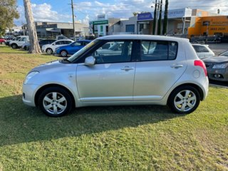 2008 Suzuki Swift RS415 RE1 Silver 4 Speed Automatic Hatchback.