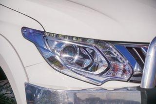 2016 Mitsubishi Triton MQ MY16 Exceed Double Cab White 5 Speed Sports Automatic Utility.