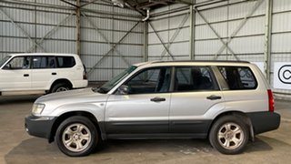 2004 Subaru Forester 79V MY04 X AWD Silver 4 Speed Automatic Wagon