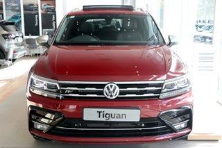 2021 Volkswagen Tiguan 5N MY21 162TSI Highline DSG 4MOTION Allspace Red 7 Speed