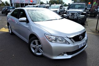 2012 Toyota Aurion GSV50R Touring Silver 6 Speed Sports Automatic Sedan.