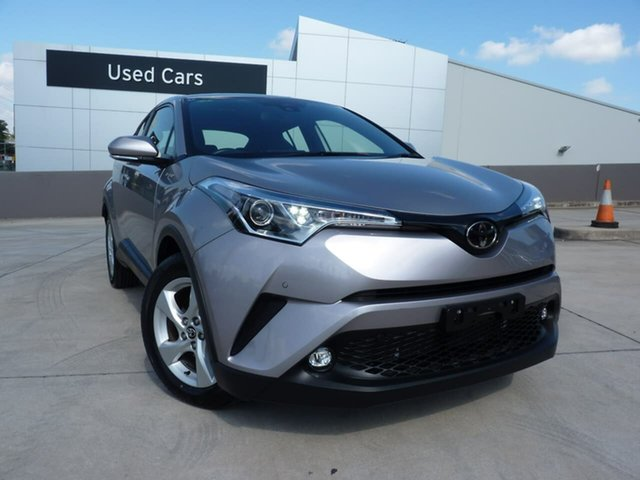 Pre-Owned Toyota C-HR NGX10R S-CVT 2WD Blacktown, 2018 Toyota C-HR NGX10R S-CVT 2WD Shadow Platinum 7 Speed Constant Variable Wagon