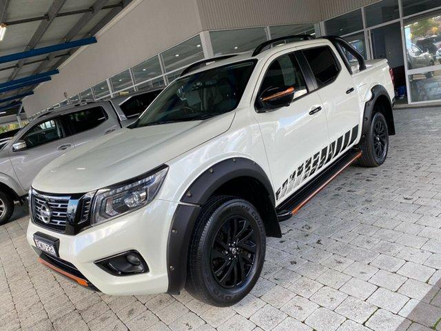 Used Nissan Navara N-TREK Taree, 2019 Nissan Navara N-TREK White Sports Automatic Dual Cab Utility