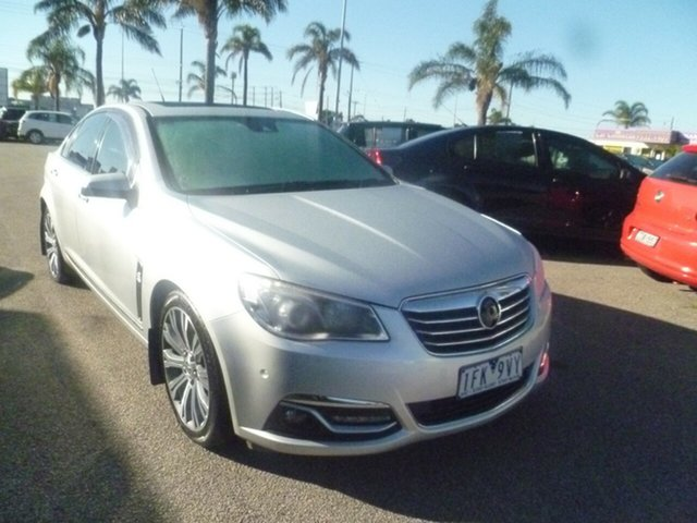 Used Holden Calais VF MY14 V Moorabbin, 2014 Holden Calais VF MY14 V Silver 6 Speed Sports Automatic Sedan