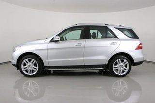 2015 Mercedes-Benz ML250 CDI BlueTEC 166 MY14 4x4 Silver 7 Speed Automatic Wagon