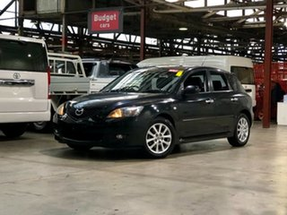 2008 Mazda 3 BK10F2 Maxx Black 4 Speed Sports Automatic Hatchback.