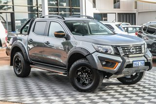 2020 Nissan Navara D23 S4 MY20 N-TREK Warrior Grey 7 Speed Sports Automatic Utility.