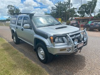 2010 Holden Colorado RC MY11 LX Crew Cab Silver 5 Speed Manual Utility.