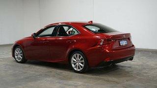 2015 Lexus IS GSE30R IS250 Luxury Red 6 Speed Sports Automatic Sedan.