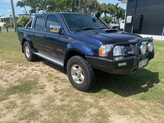 Used Nissan Navara Bowen, 2013 Nissan Navara STR D22 Blue Manual Dual Cab