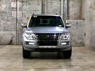 2016 Mitsubishi Pajero NX MY16 GLS Silver 5 Speed Sports Automatic Wagon.